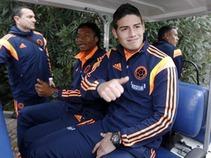 A punto de firmar James Rodríguez  con el Real Madrid