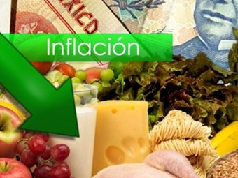 Por primera vez la inflación de enero fue a la baja: INEGI