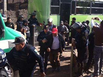 Riña en Tláhuac por control de mina de arena deja más de 100 detenidos