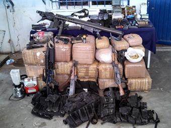 Asegura PGR armas y droga en Sonora y Durango