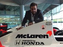 En problemas el primer día de Fernando Alonso con McLaren