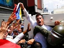 Piden manifestantes la liberación de Leopoldo López