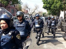 Realizan operativo de recuperación de espacios en Cuauhtémoc y GAM