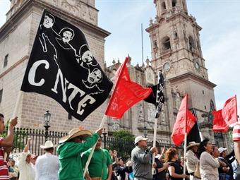 Se movilizará CNTE en todo Michoacán