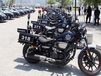 Vigilaran policías en moto  puerto Acapulco