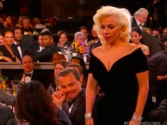 Leonardo DiCaprio da una explicación sobre su reacción ante Lady Gaga