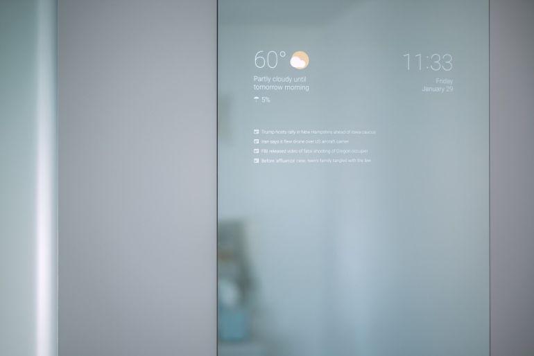 Un empleado de Google ha diseñado un espejo inteligente