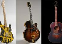 Subastarán en NY 300 guitarras antiguas y famosas