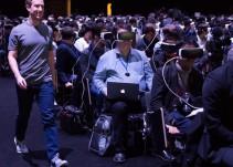 Se viraliza foto de Mark Zuckerberg caminando entre un público que usa dispositivos de realidad virtual