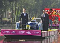 Presentan la Fórmula E en Xochimilco