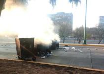 Se reportan disturbios en CU