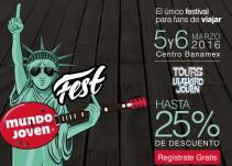 Mundo Joven Fest 5 y 6 de marzo: para fans de viajar y estudiar en el extranjero