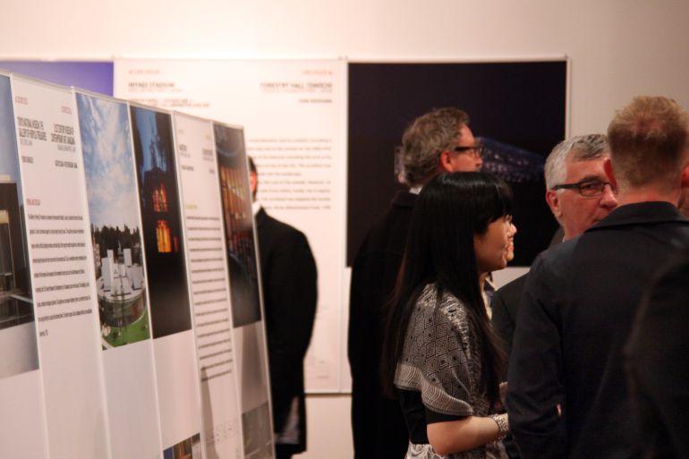 Exposición de la arquitectura nipona