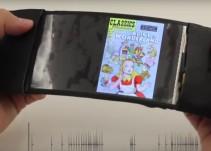 Conoce ReFlex, el primer celular con pantalla flexible
