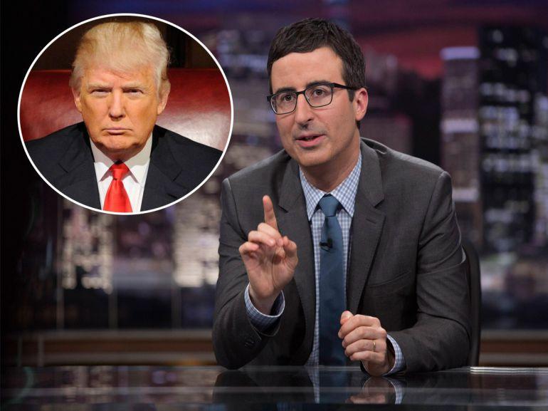 "El comediante pidió hacer hashtag la frase ""#MakeDonaldDrumpfAgain"""