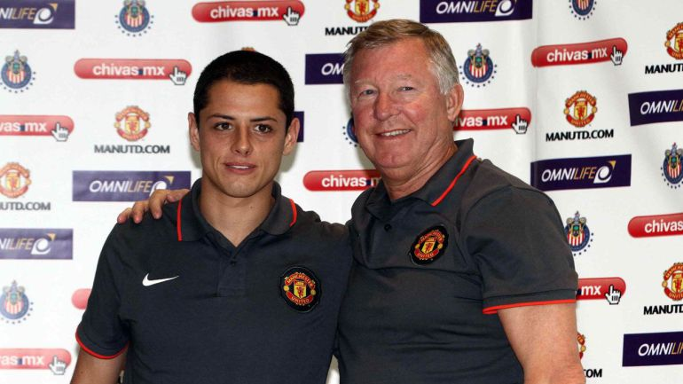 'Chicharito' y su afecto por Sir Alex Ferguson