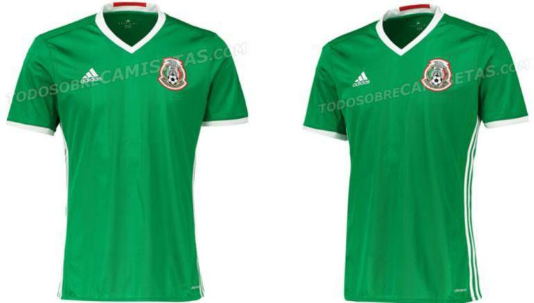 1169929d2158c Filtran nueva camiseta de la Selección Mexicana