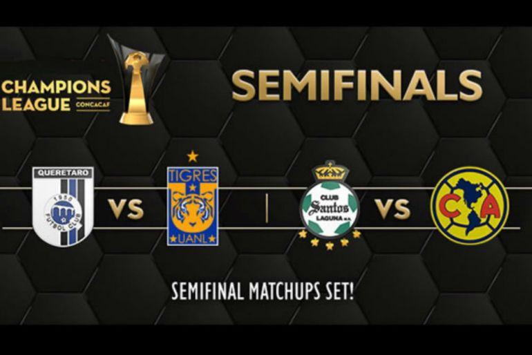 Definen fechas para Semifinales de Concachampions