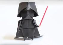 ¡Aprende a hacer a Darth Vader, Yoda y la Princesa Leia de origami!