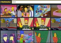 Este sitio te permite encontar tus escenas favoritas de Los Simpson