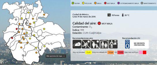 La #CDMX cumple 24 horas en fase I de Contingencia Ambiental