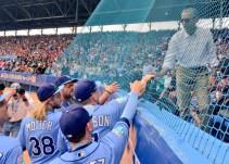 17 años después, un equipo de Grandes Ligas jugó un partido en Cuba