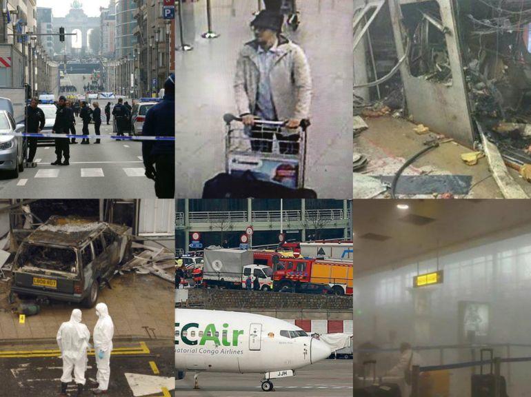 Información de los atentados en Bruselas, desde cuentas oficiales