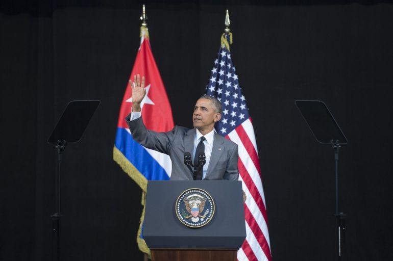 Obama condena los atentados terroristas en Bruselas desde Cuba