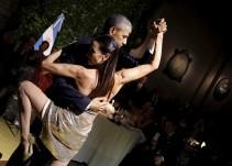¡Barack Obama baila tango durante su gira en Argentina!