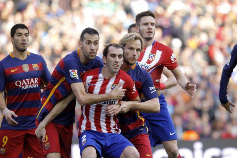 Los cuartos de final de la Champions League inician con el Barcelona-Atlético