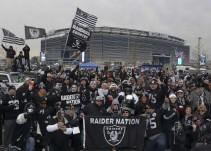 Los Raiders de Oakland convivirán con aficionados mexicanos en el Azteca