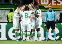 Wolfsburgo sorprendió al Real Madrid y PSG igualó ante el Manchester City