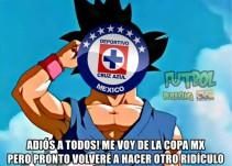 Cruz Azul se despidió de la Copa MX y los memes no se hiceron esperar