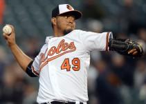 Yovani Gallardo tuvo un exitoso debut con los Orioles de Baltimore