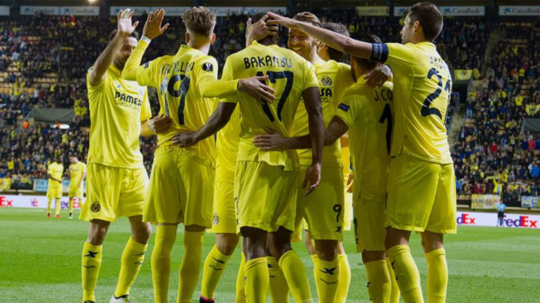 Villarreal supera a Sparta Praga en ida de cuartos de final de Europa League