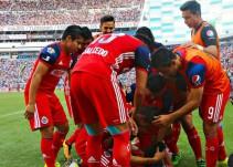 Guadalajara eludió el descenso tras golear a Puebla en el Cuauhtémoc