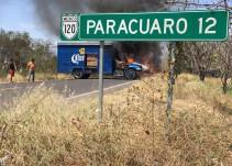 Detienen a 15 personas por bloqueos e incendios en Tierra Caliente