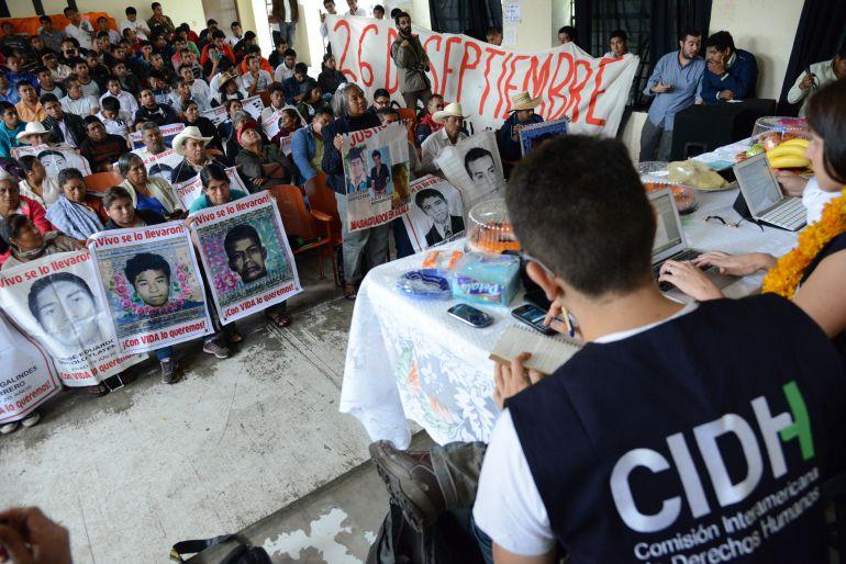 CIDH anuncia la terminación del mandato del GIEI en México