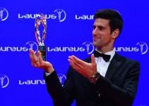 Novak Djokovic gana el Premio Laureus como Mejor Deportista del Año