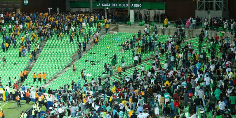 Santos inicia proceso legal contra involucrados en hechos violentos del pasado fin de semana