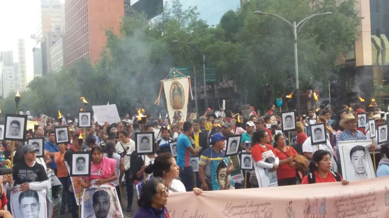 CNDH investiga 47 quejas de tortura en caso Ayotzinapa