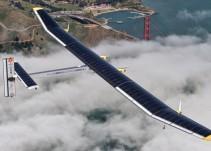 Conoce al primer avión que usa energía solar
