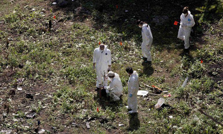 Investigación de los 43 en Cocula, Guerrero. Foto: www.posta.com.mx