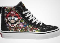 Nintendo y Vans anuncian una nueva línea de tenis