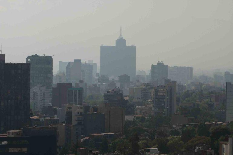 CNDH analiza quejas por mala calidad del aire en el Valle de México