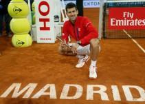 Novak Djokovic vence a Andy Murray en la Final del Abierto de Madrid