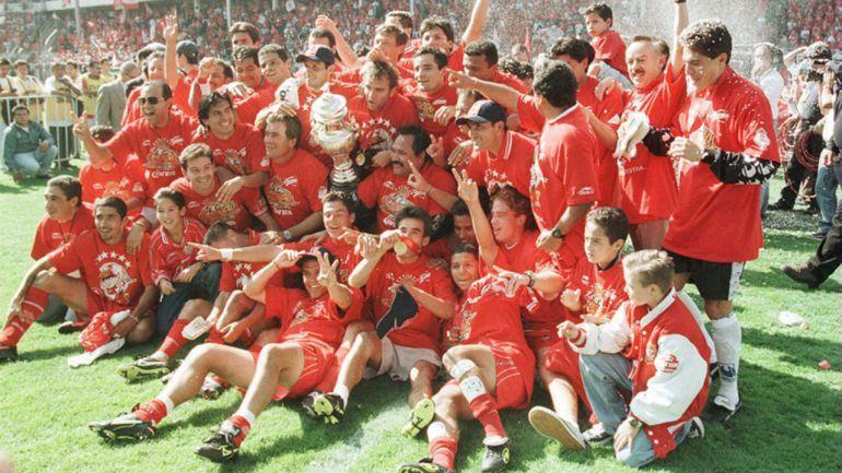 Toluca logró su primer título en Torneos Cortos el Día de las Madres de 1998