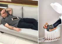 CEO se queda dormido y sus empleados lo convierten en memes