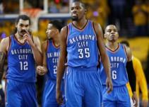 Oklahoma City vence a Golden State en primer juego de la Final de Conferencia