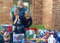 #LadyChewbacca gana dotación de máscaras por su video viral